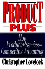 Cover of: Product Plus | Christopher Lovelock