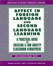 Cover of: Affect in Foreign Language and Second Language Learning | Dolly Jesusita Young