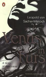 Cover of: Venus in Furs | Leopold Ritter von Sacher-Masoch
