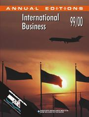 Cover of: International Business 99/00 (International Business 1999-2000) | Fred Maidment