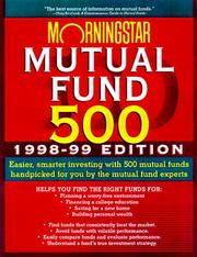 Cover of: Morningstar 500 | Don Phillips