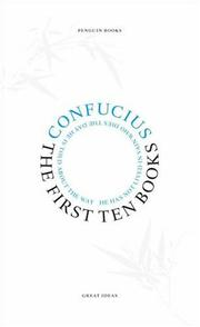 Cover of: First Ten Books | Confucius