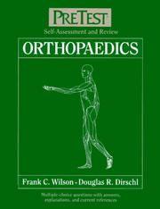 Cover of: Orthopaedics by Frank C. Wilson