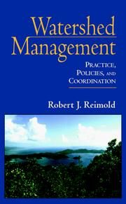 Cover of: Watershed Management | Robert J. Reimold