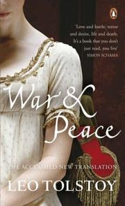 Cover of: WAR AND PEACE | Leo Tolstoy