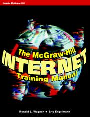 Cover of: The McGraw-Hill Internet training manual | Ronald L. Wagner