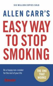 Cover of: Allen Carr's Easy Way to Stop Smoking | Allen Carr