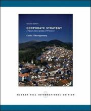 Cover of: Corporate Strategy by Collis