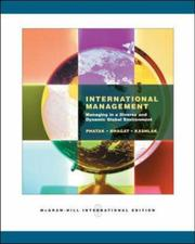 Cover of: Fundamentals of International Management by Arvind Phatak