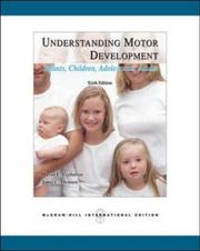 Cover of: Understanding Motor Development | David Gallahue