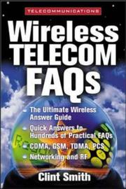 Cover of: Wireless Telecommunications FAQs | Clint Smith