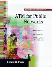 Cover of: Atm for Public Networks (Telecommunications) | Ronald Harding Davis