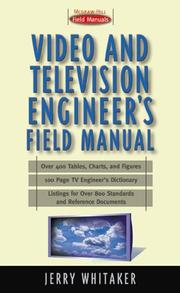 Cover of: Video and Television Engineer's Field Manual by Jerry Whitaker
