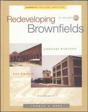 Cover of: Redeveloping Brownfields | Thomas Russ
