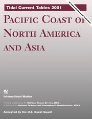Cover of: Tidal Current Tables 2001 by United States. National Oceanic and Atmospheric Administration.