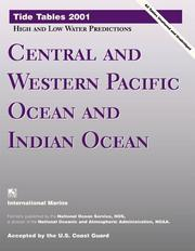 Cover of: Tide Tables 2001: Central and Western Pacific Ocean and Indian Ocean | United States. National Oceanic and Atmospheric Administration.