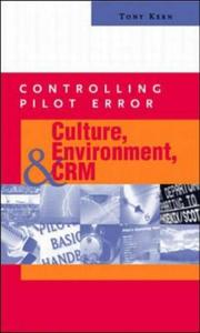 Cover of: Controlling Pilot Error | Anthony T. Kern