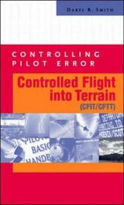 Cover of: Controlling Pilot Error | Daryl R. Smith