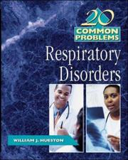 Cover of: 20 Common Problems in Respiratory Disorders | William J Hueston