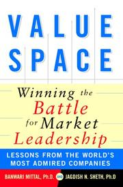 Cover of: ValueSpace | Banwari Mittal