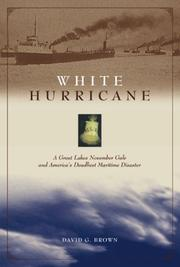 Cover of: White Hurricane | David G. Brown
