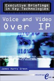 Cover of: Voice & Video Over IP eBook | James Harry Green