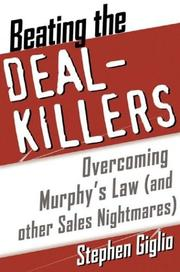 Cover of: Beating the Deal Killers by Stephen Giglio