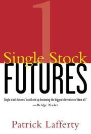 Cover of: Single Stock Futures | Patrick Lafferty