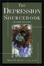 Cover of: The Depression Sourcebook by Brian P. Quinn