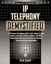 Cover of: IP Telephony Demystified by Ken Camp