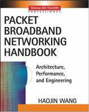 Cover of: Packet Broadband Network Handbook | Haojin Wang