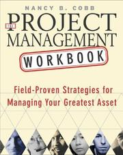 Cover of: The Project Management Workbook by Nancy B. Cobb