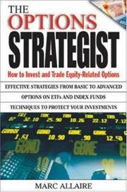 Cover of: The Options Strategist | Marc Allaire