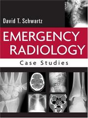Cover of: Emergency radiology | David T. Schwartz