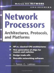 Cover of: Network Processors | Panos C. Lekkas