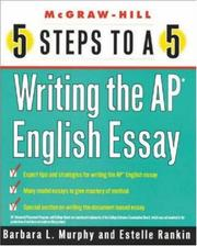Cover of: 5 Steps to a 5 on the AP | Barbara Murphy
