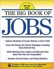 Cover of: The Big Book of Jobs 2005-2006 Edition (Big Book of Jobs) | Editors of VGM
