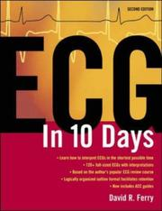 Cover of: ECG in 10 Days by David R. Ferry