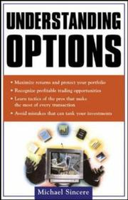 Cover of: Understanding options | Michael Sincere