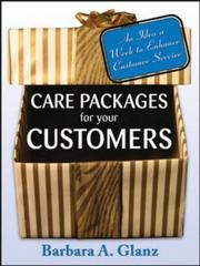 Cover of: Care Packages for Your Customers by Barbara Glanz