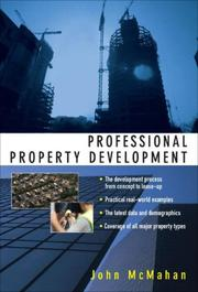 Cover of: Professional Property Development | John McMahan