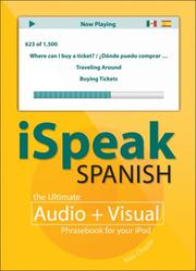 Cover of: iSpeak Spanish by Alex Chapin