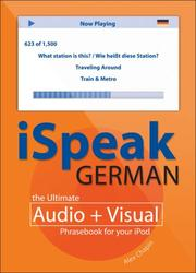 Cover of: iSpeak German | Alex Chapin