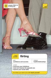 Cover of: Teach Yourself Flirting ( Book + Audio CD) | van Rood Sam