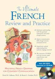 Cover of: The Ultimate French Review and Practice (Book+ CD-ROM) (Ultimate Book & CD Rom) | Ronni L. Gordon
