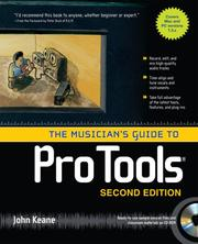 Cover of: The Musician's Guide to Pro Tools | John Keane