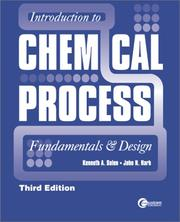 Cover of: Introduction to Chemical  Process | Ken Solen