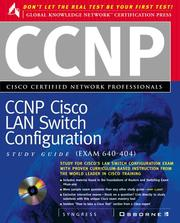 Cover of: CCNP Cisco Certified Network Professional | Syngress Media