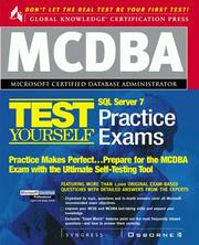 Cover of: MCDBA SQL Server 7 Certification Boxed Set | Syngress Media Inc