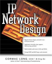 Cover of: IP Network Design | Cormac S. Long